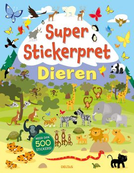 Super Stickerboek Dieren