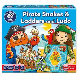 Pirate Snakes & ladders and Ludo Orchard Toys