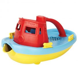Tugboat Red Handle Green Toys